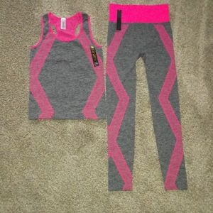 BRAND NEW w/ tags new mix leggings w/matching top